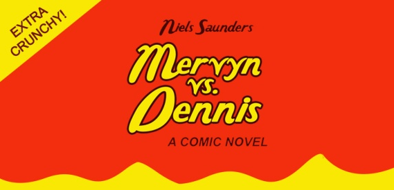 Peanut Butter Label for Mervyn vs. Dennis by Niels Saunders