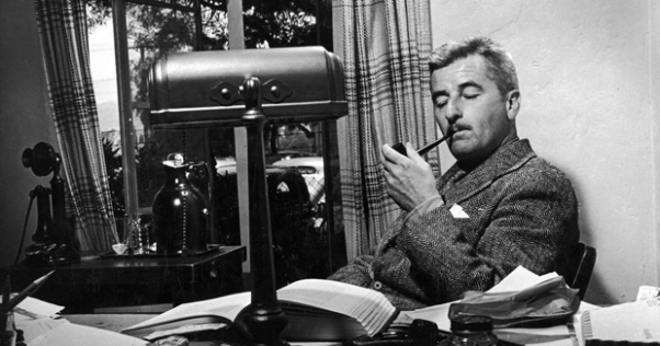 William Faulkner, Master of the Infodump